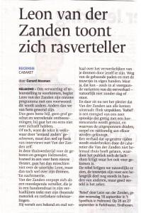 Rebel, Recensie Eindhovens Dagblad 19-09-2013
