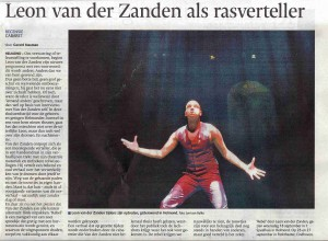 Rebel, voorpagina ED regio Helmond 19-9-2013